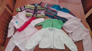 Lote chaquetitas bebe niña