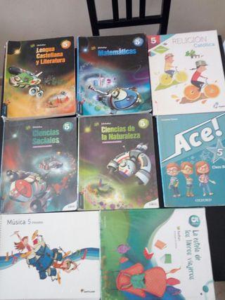 libros de texto para 5° de primaria
