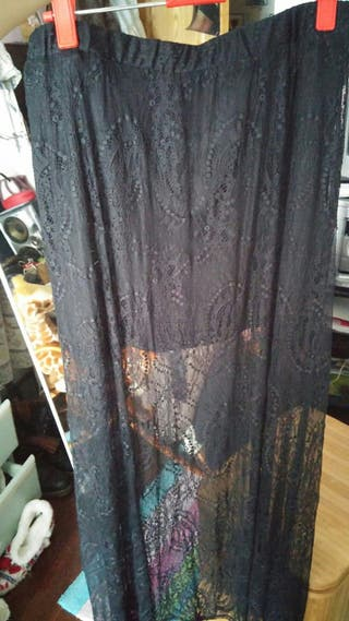 falda stradovarius talla L