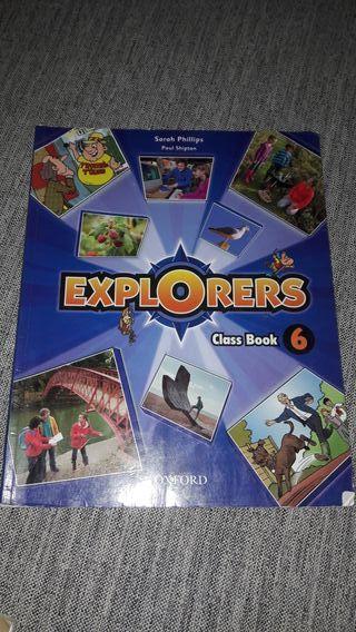 libro explorers class book 6