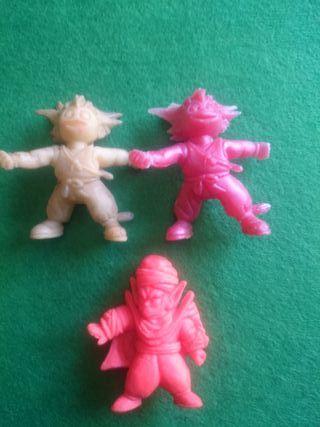 figuras de dragon ball del 1986 vintage