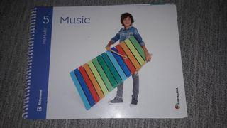 libro music 5 primaria