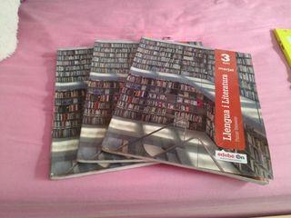 libros edebe 3°ESO LLengua I literatura
