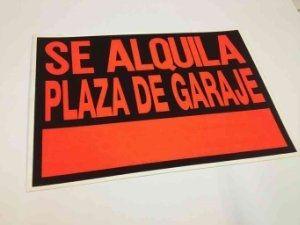 Alquilo plaza garaje Parla