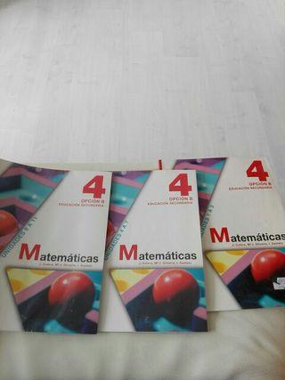 Libros matematicas 4.eso castellano