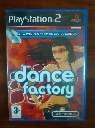 DANCE FACTORY - SONY PLAYSTATION 2 - PS3