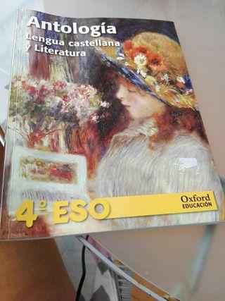 libro 4 eso lengua castellana y ltireatur e