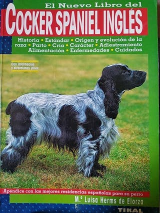 Libro- Cocker Spaniel Ingles