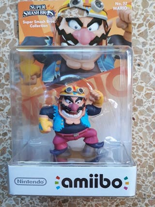 amiibo super smash bros wario