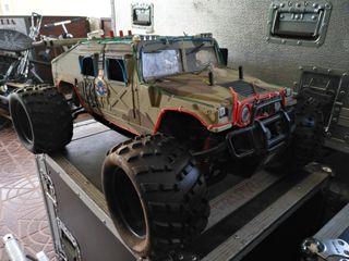 Hummer coche radiocontrol esc 1/5 gasolina 23 cm
