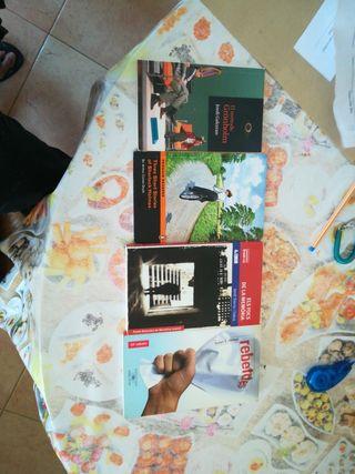 libros de lectura 3 eso