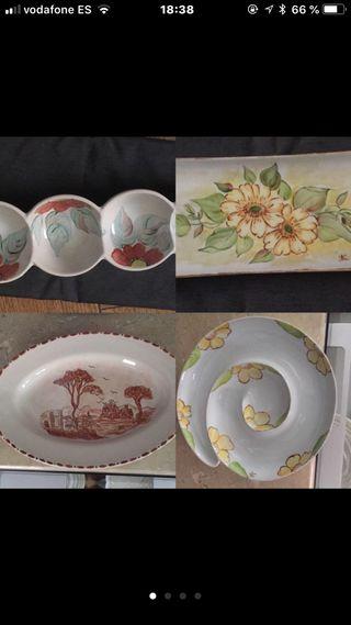 Platos ceramica