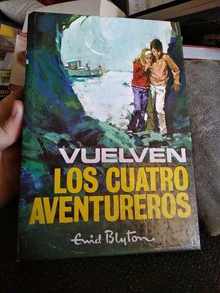 Libro-Vuelven los Cuatro Aventureros