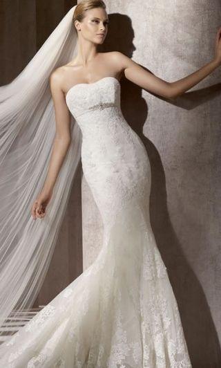 Vestido novia de pronovias balira
