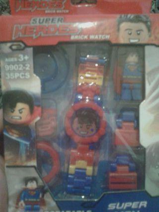 reloj compatible lego