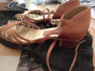 zapatos de baile de salon niña talla 36