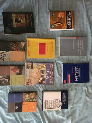 Libros Filología inglesa