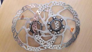 Discos de freno Shimano bicicleta