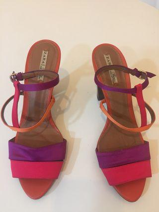 Zapatos de verano de Zara