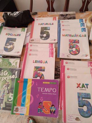 libros texto 5 primaria