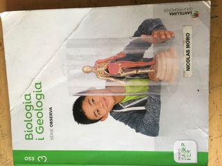 Libro biologia y geologia 3 ES