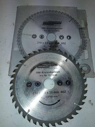 disco para circular de madera