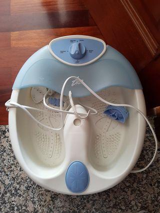 bañera para pies de estética