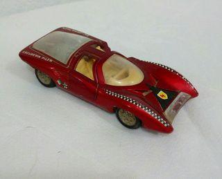 coche antiguo de metal ferrari berlineta