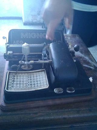 mignon maquina de escribir