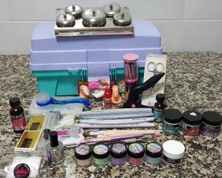 kit para uñas de acrilico