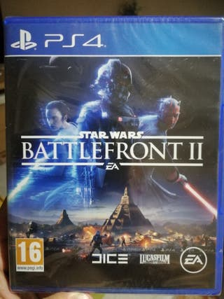 Battlefront 2 Ps4 precintado