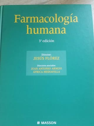 libro de farmacologia humana