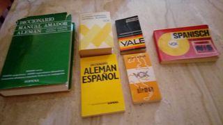 Diccionarios Alemánes.