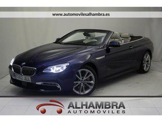 BMW Serie 6 Cabrio SERIE 6 CABRIO 640D AUTO