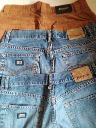 Pantalones Liberto. Lote. Jeans. Vaqueros.