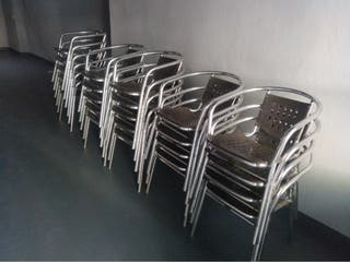 Lote de sillas de terraza