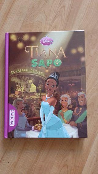 Libro Tiana y el Sapo de Disney