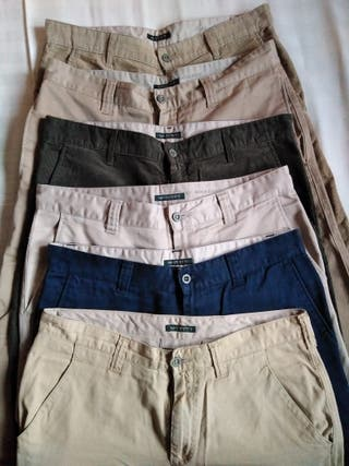 Pantalones Dockers. Lote.