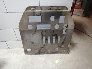 cubrecarter metalico