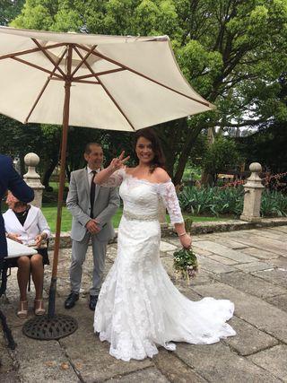 Vestido de novia David Tutera talla 42