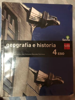 Libro de geografía e historia 4º ESO