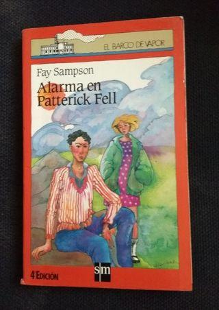 "Libro ""Alarma en Patterick Fell"""