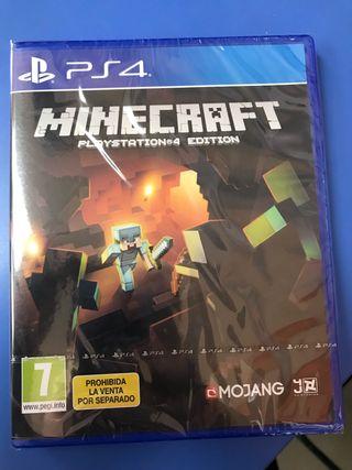 Minecraft ps4 juego