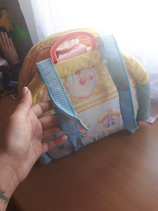 mochila casa de juguete de NENUCO