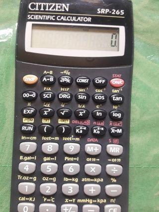 calculadora cientifica citizen
