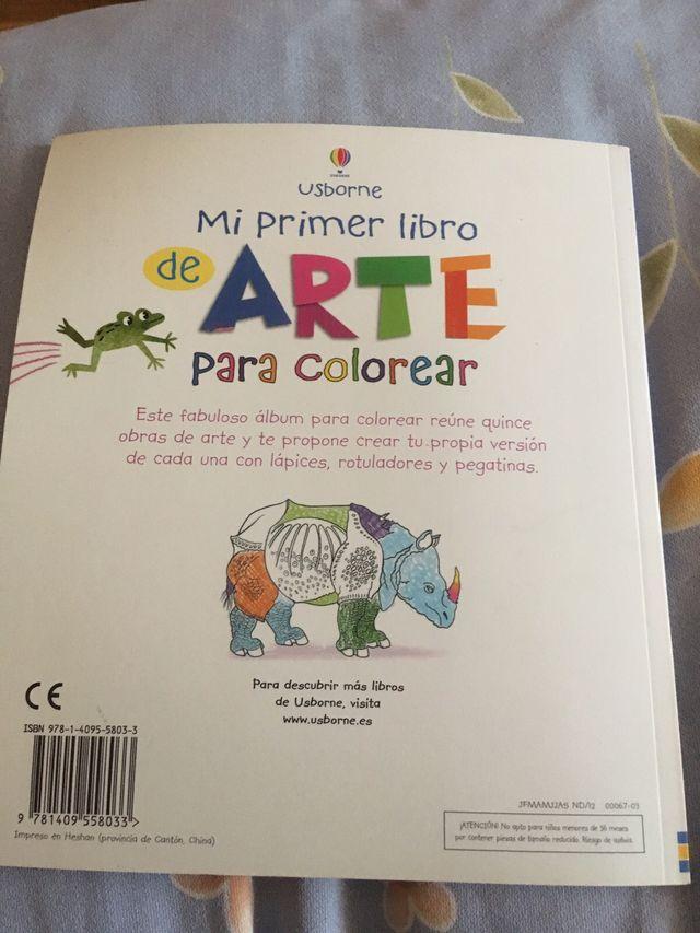 Mi primer libro arte colorear de segunda mano por 3 € en Rivas ...