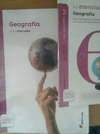 Geografia 2° bachiller