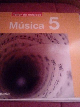 libro de musica de 5 de primaria