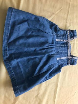 Vestido Zara mini