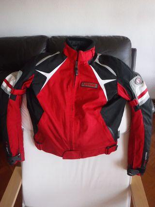 chaqueta moto mujer Levior